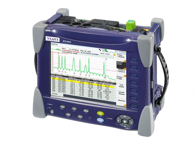 VIAVI OSA-710, el analizador de espectro óptico para tráfico vivo ROADM y formatos arbitrarios de modulación.