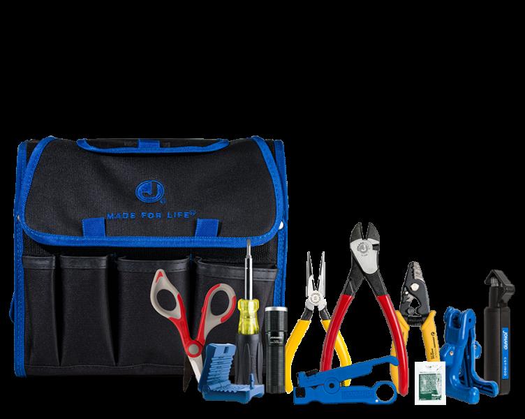 Kit de preparación y manejo de fibra optica