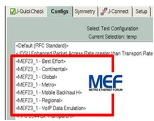 pantalla configuracion mef